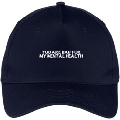 You are bad for my mental health hat, cap $24.75 redirect07012021000748 1