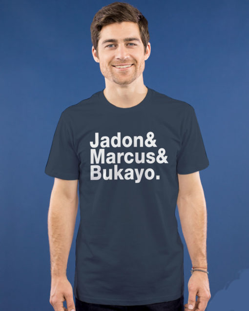Jason Sudeikis Jadon Marcus Bukayo shirt $19.95 jadon marcus and bukayo shirt