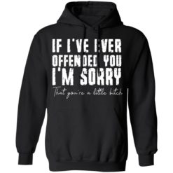 If i've ever offended you i'm sorry that you're a little bitch shirt $19.95 redirect07022021090702 4