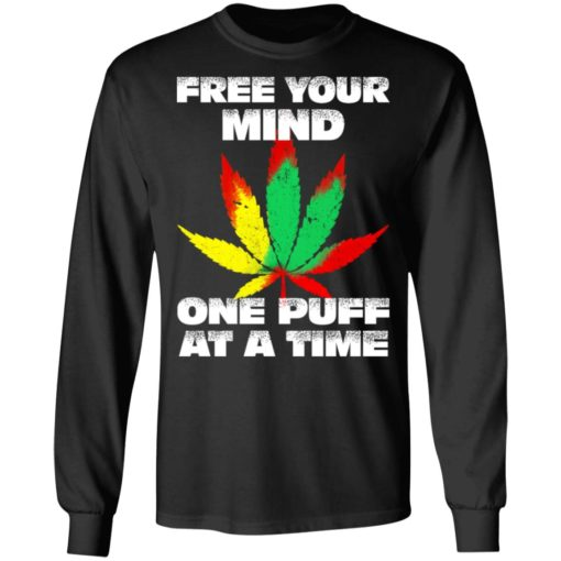 Cannabis free your mind one puff at a time shirt $19.95 redirect07022021100746 2
