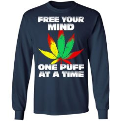 Cannabis free your mind one puff at a time shirt $19.95 redirect07022021100746 3