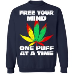 Cannabis free your mind one puff at a time shirt $19.95 redirect07022021100746 7