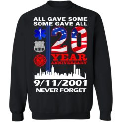 All gave some some gave all 20 year anniversary shirt $19.95 redirect07072021220733 6
