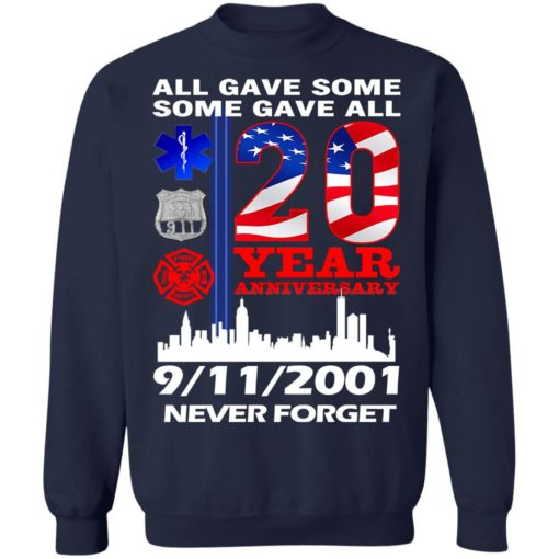 All gave some some gave all 20 year anniversary shirt $19.95 redirect07072021220733 7