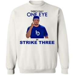 Trevor Bauer there's only one eye in strike three shirt $19.95 redirect07092021020744 7