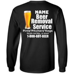 Personalized beer removal service shirt $19.95 redirect07112021100708 2