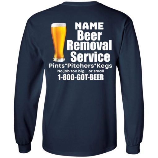 Personalized beer removal service shirt $19.95 redirect07112021100708 3