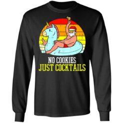 No cookies just cocktails Santa unicorn shirt $19.95 redirect07122021030703 2