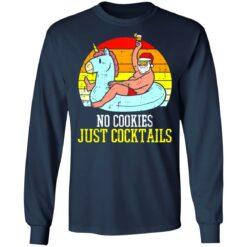 No cookies just cocktails Santa unicorn shirt $19.95 redirect07122021030703 3