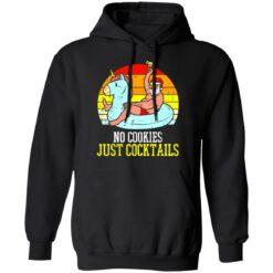 No cookies just cocktails Santa unicorn shirt $19.95 redirect07122021030703 4