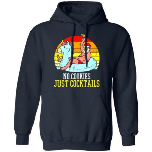 No cookies just cocktails Santa unicorn shirt $19.95 redirect07122021030703 5