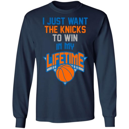 Basketball i just the knicks to win in my lifetime shirt $19.95 redirect07122021050728 3