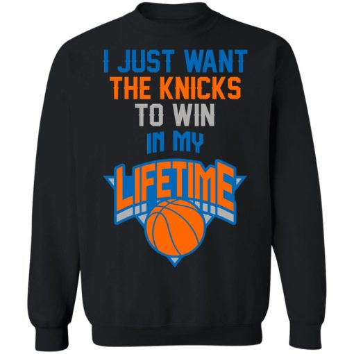 Basketball i just the knicks to win in my lifetime shirt $19.95 redirect07122021050728 6
