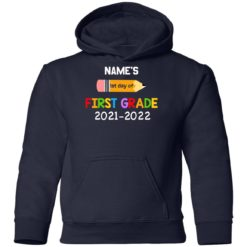 Personalized kids name first grade 2021 shirt $21.95 redirect07132021230729 10