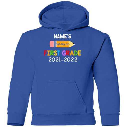 Personalized kids name first grade 2021 shirt $21.95 redirect07132021230729 11