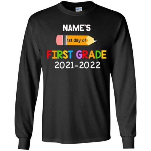 Personalized kids name first grade 2021 shirt $21.95 redirect07132021230729 5