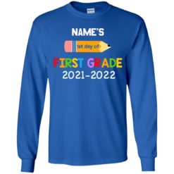 Personalized kids name first grade 2021 shirt $21.95 redirect07132021230729 7