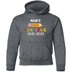 Personalized kids name first grade 2021 shirt $21.95 redirect07132021230729 9