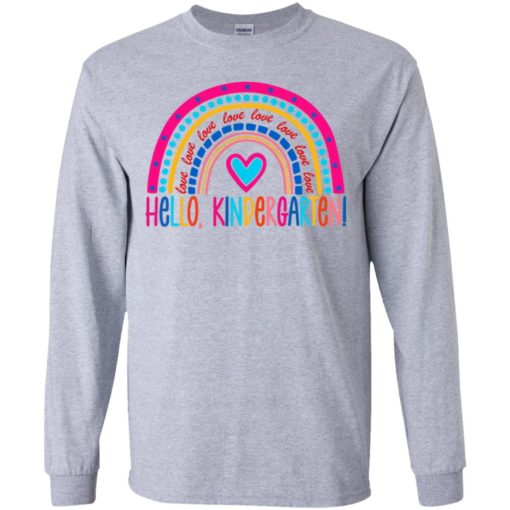 Love hello kindergarten shirt $21.95 redirect07142021040752 2