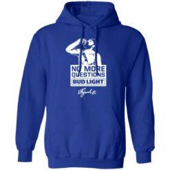 No more questions Bud Light Kucherov shirt $19.95 redirect07142021120738 5