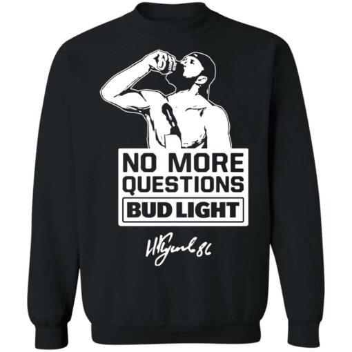No more questions Bud Light Kucherov shirt $19.95 redirect07142021120738 6