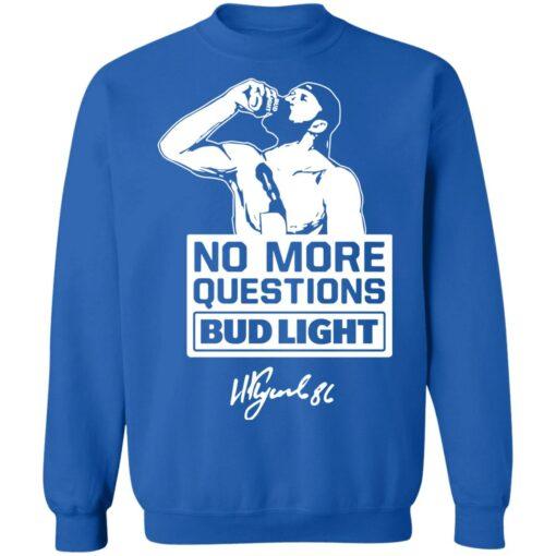 No more questions Bud Light Kucherov shirt $19.95 redirect07142021120738 7