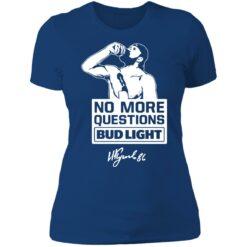 No more questions Bud Light Kucherov shirt $19.95 redirect07142021120738 9
