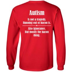 Autism is not a tragedy running out of bacon is shirt $19.95 redirect07142021230729 3