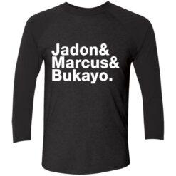 Jadon Marcus Bukayo Tri-Blend 3/4 Sleeve T-Shirt $26.95 redirect07162021100731 1