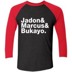 Jadon Marcus Bukayo Tri-Blend 3/4 Sleeve T-Shirt $26.95 redirect07162021100731 2