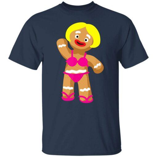 Gingerbread Woman in Bikini shirt $19.95 redirect07172021020752 1
