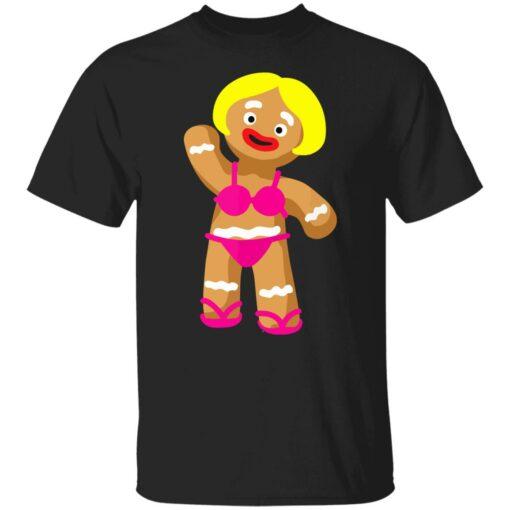 Gingerbread Woman in Bikini shirt $19.95 redirect07172021020752