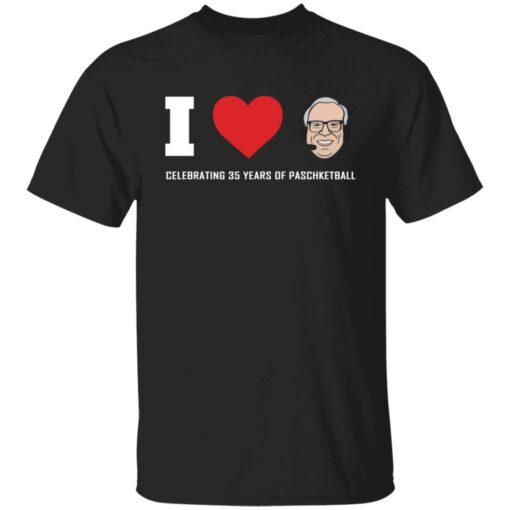 Giannis I love Jim Paschke celebrating 35 years shirt $19.95 redirect07212021040719
