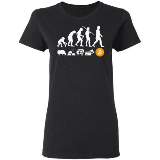 Bitcoin evolution of money shirt $19.95 redirect07222021100742 2