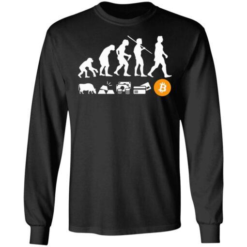 Bitcoin evolution of money shirt $19.95 redirect07222021100742 4