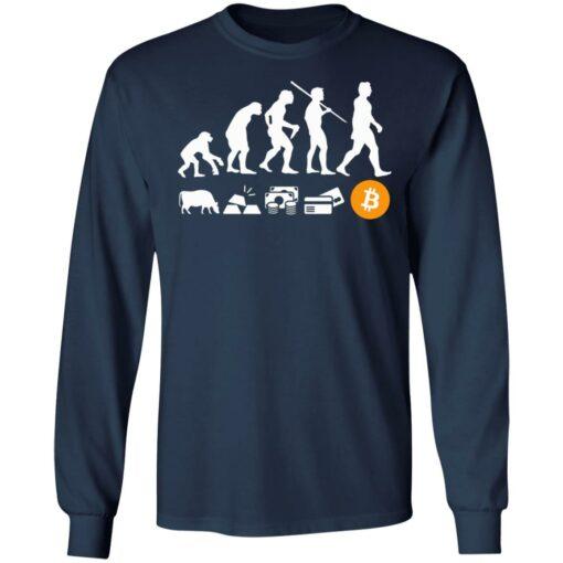 Bitcoin evolution of money shirt $19.95 redirect07222021100742 5