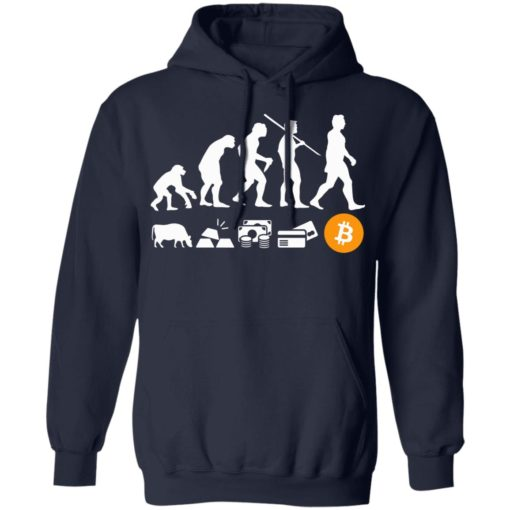 Bitcoin evolution of money shirt $19.95 redirect07222021100742 7