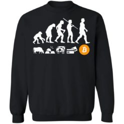 Bitcoin evolution of money shirt $19.95 redirect07222021100742 8