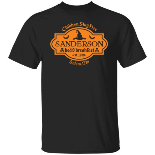 Sanderson Sisters bed and breakfas shirt $19.95 redirect07302021230728