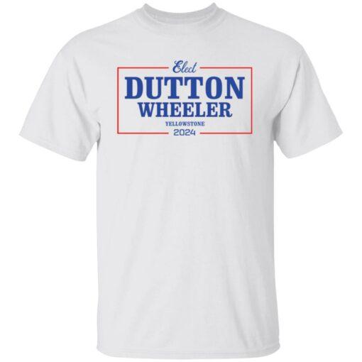 Dutton wheeler 2024 shirt $19.95 redirect07312021020721