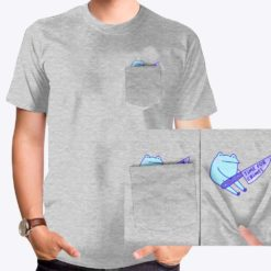 Frog With Knife pocket tee