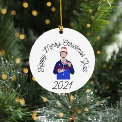 Ted Lasso Merry Christmas Y'all 2021 ornament